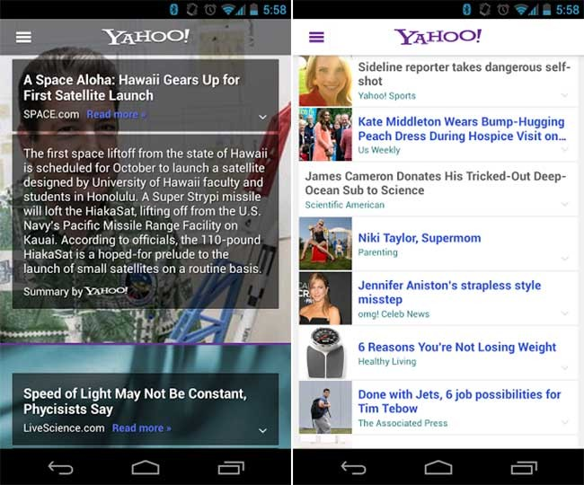 yahoo-android