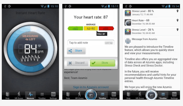 Instant Heart Rate  android (2)