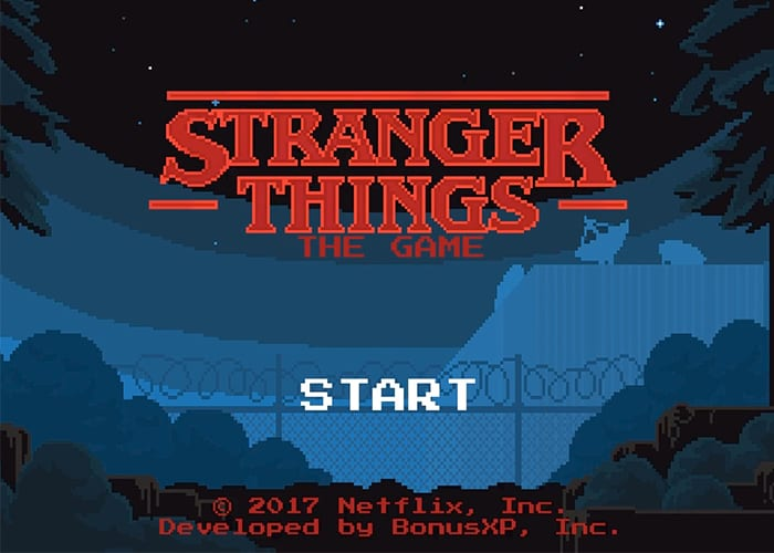 El juego oficial de Stranger Things disponible en Android